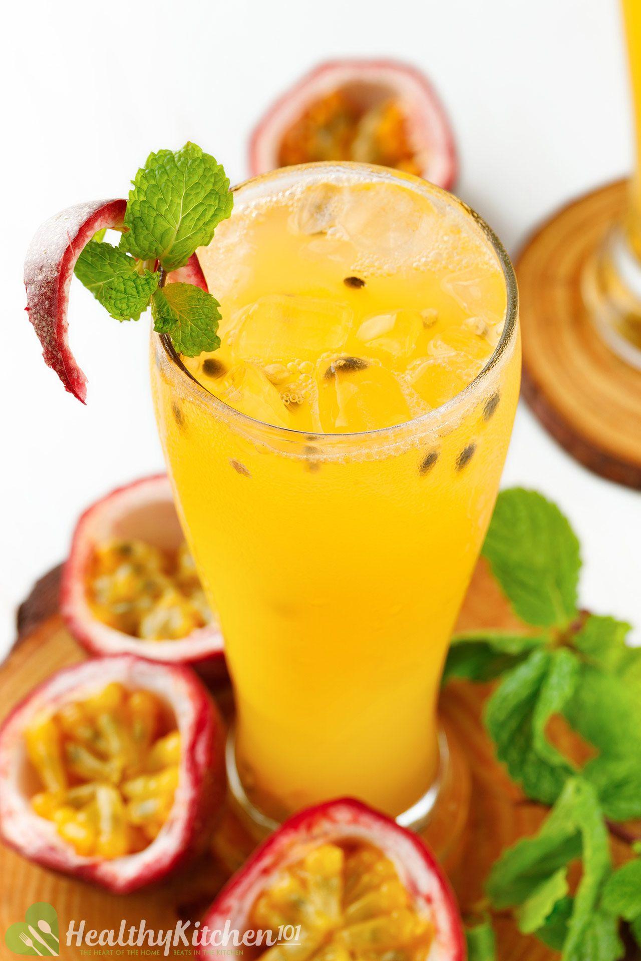 homemade passion fruit juice recipe