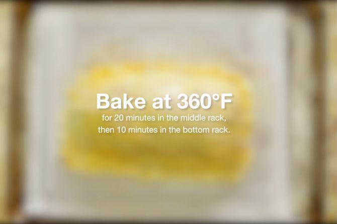 step 10: bake (1)