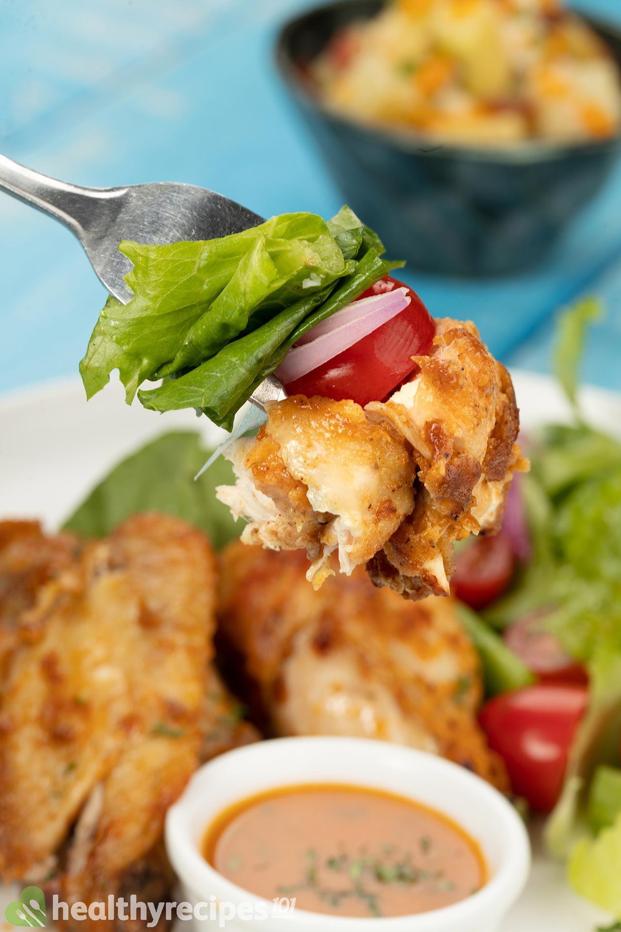 Homemade Air Fryer Chicken Wings Recipe