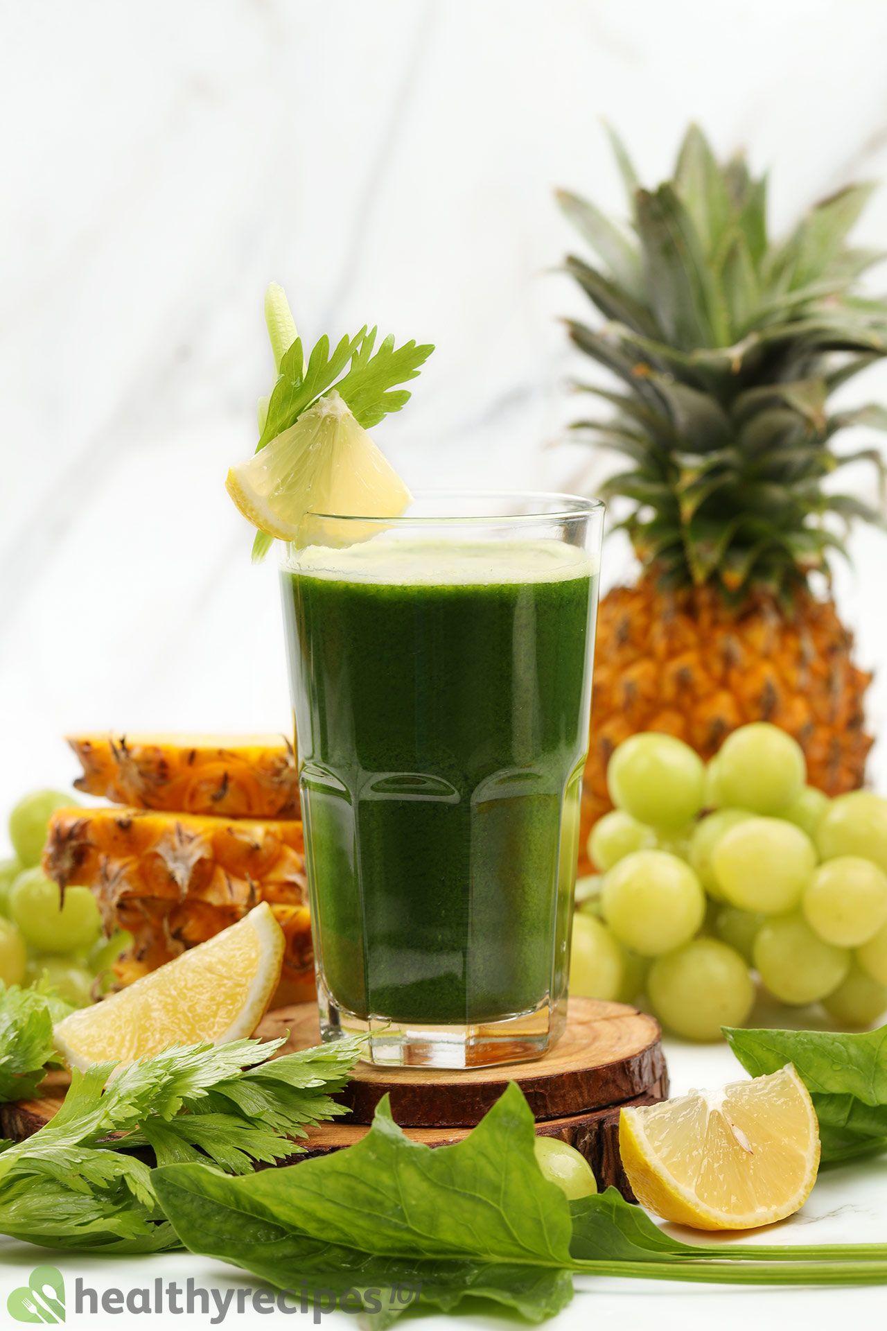 Homemade Spinach Juice Recipe
