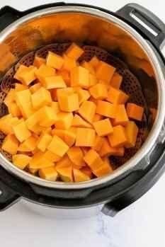 instant pot butternut squash(cubed)