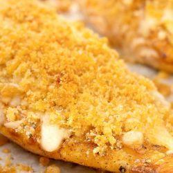 Longhorn Parmesan Crusted Chicken Recipe