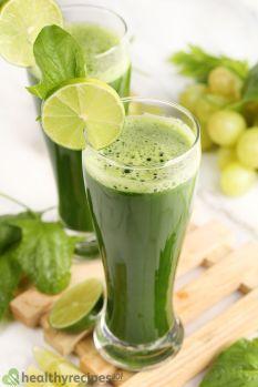 spinach juice recipe