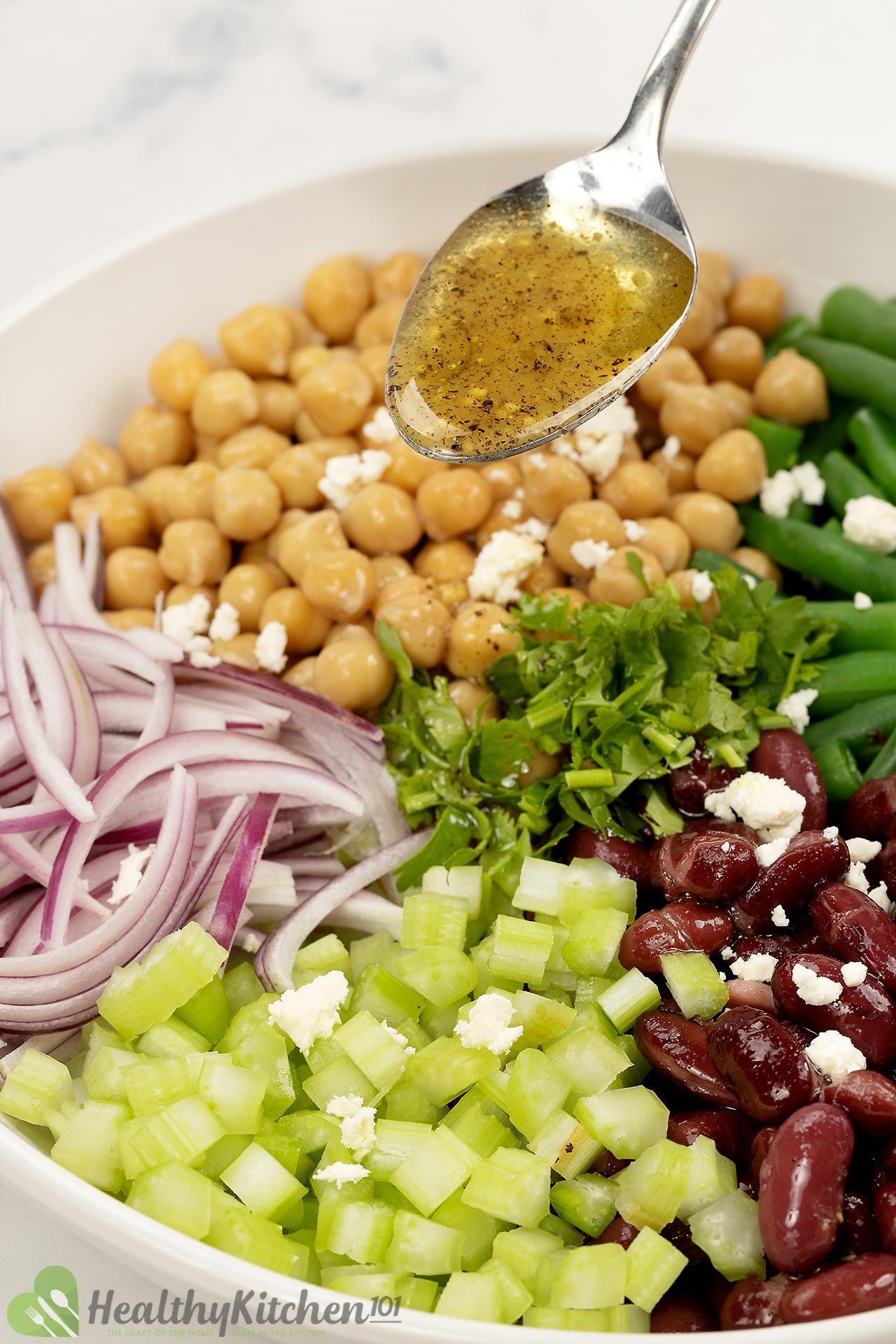 Three Bean Salad Dressing