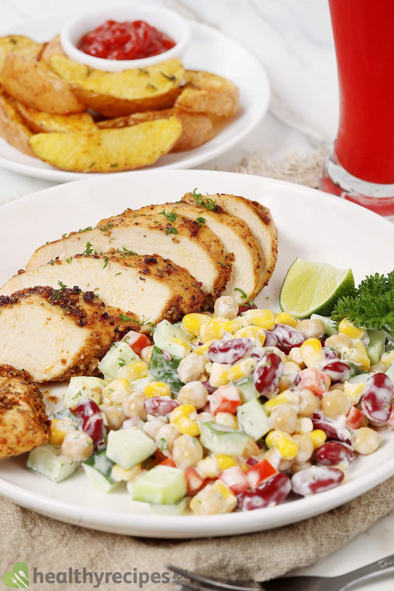 homemade air fryer chicken breasts