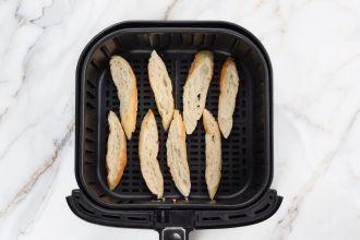 step 5: Toast the bread.