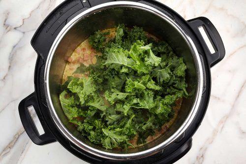 step 5: add kale