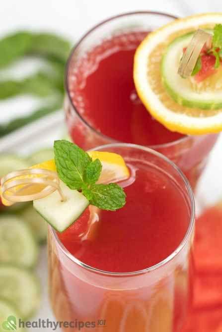watermelon cucumber juice recipe