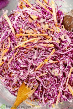 Red Cabbage Salad Recipe