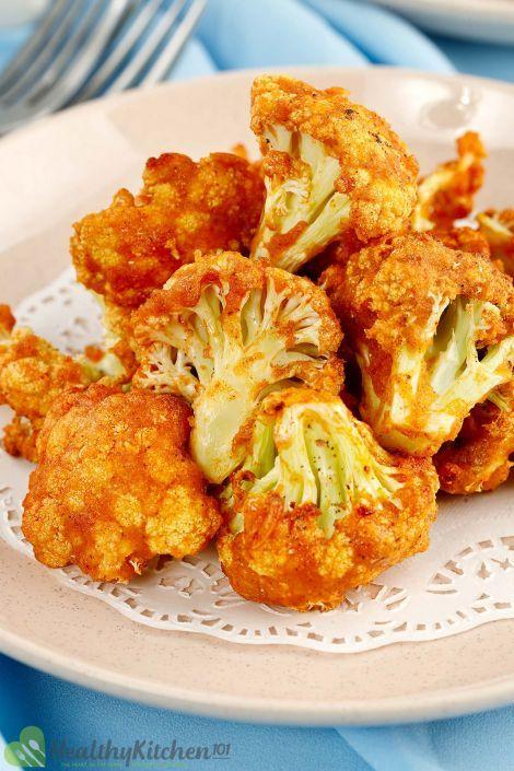 Air Fryer Buffalo Cauliflower Recipe