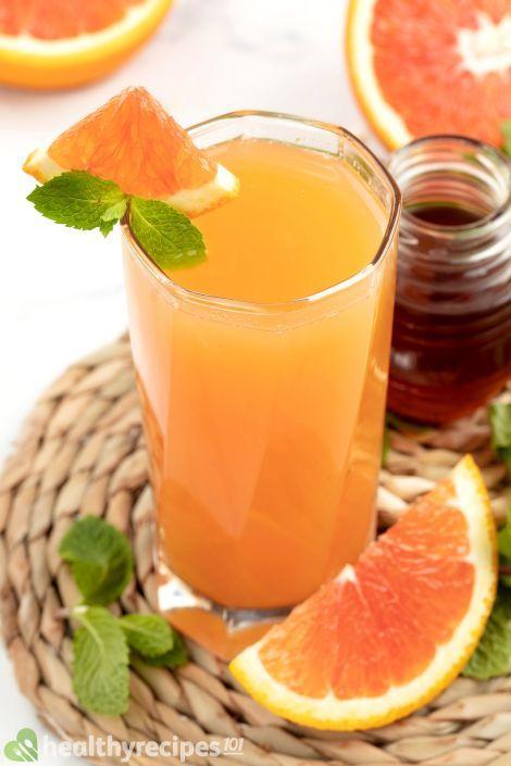 ACV grapefruit juice honey recipe