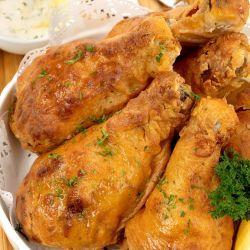 Homemade Air Fryer Buttermilk Fried Chicken Recipe