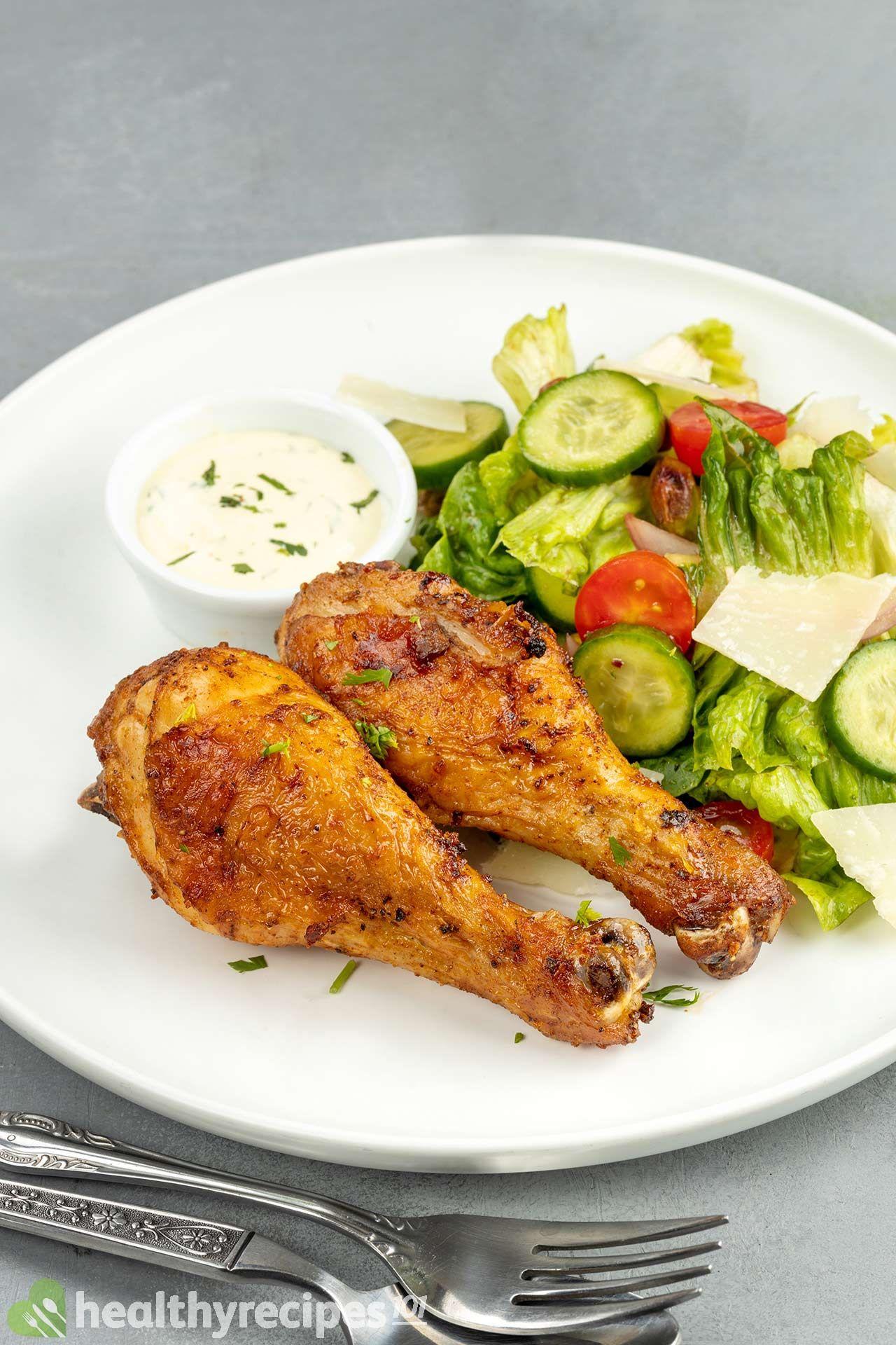 homemade chicken legs in the air fryer