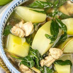 homemade chicken tinola recipe