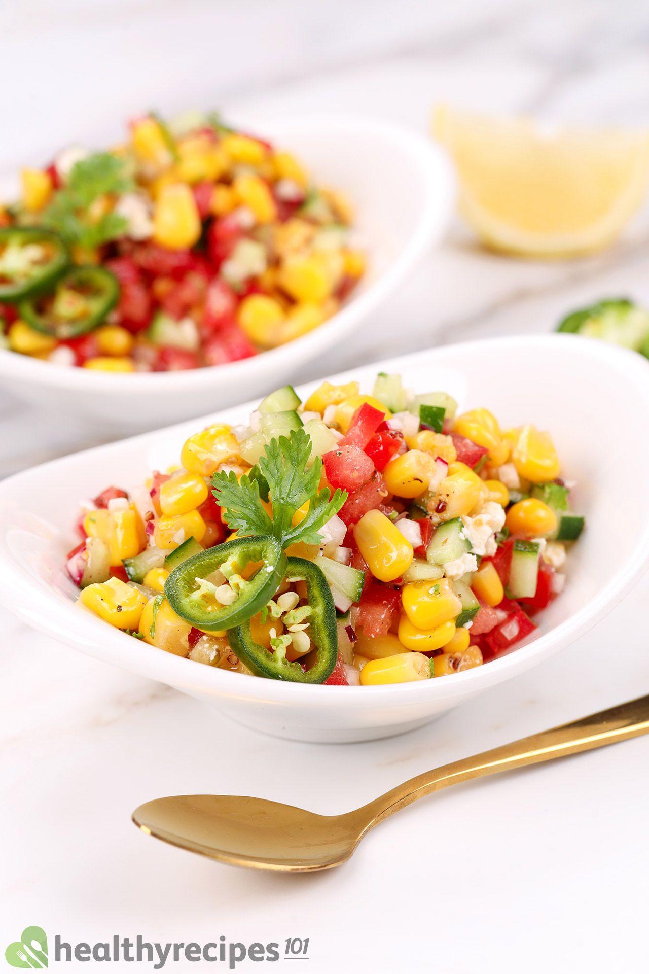 homemade corn salad recipe