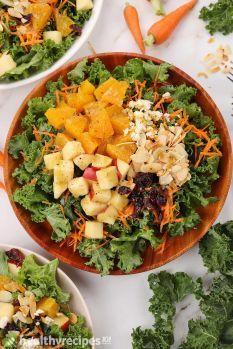 homemade kale salad recipe