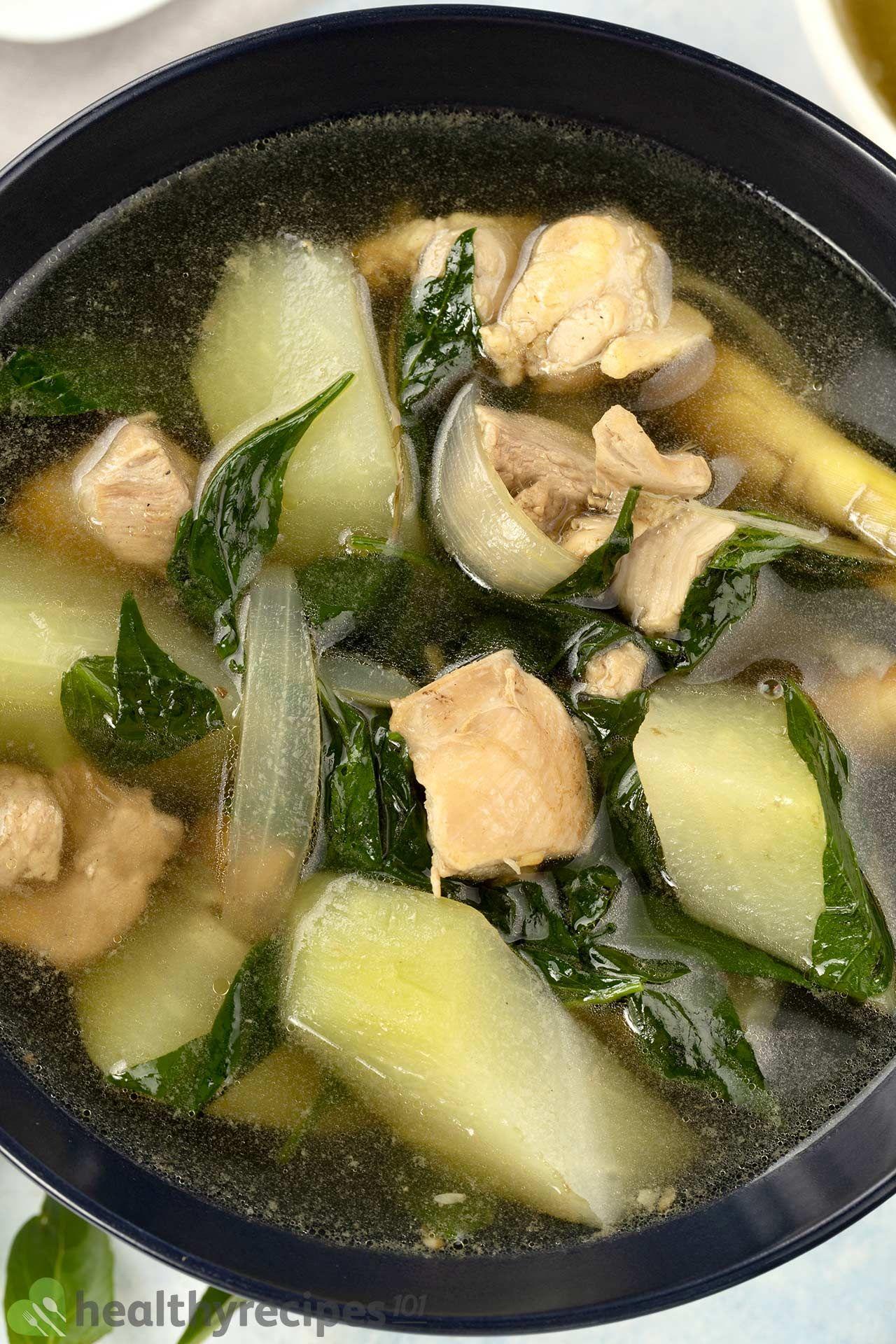 is chicken tinola healthy