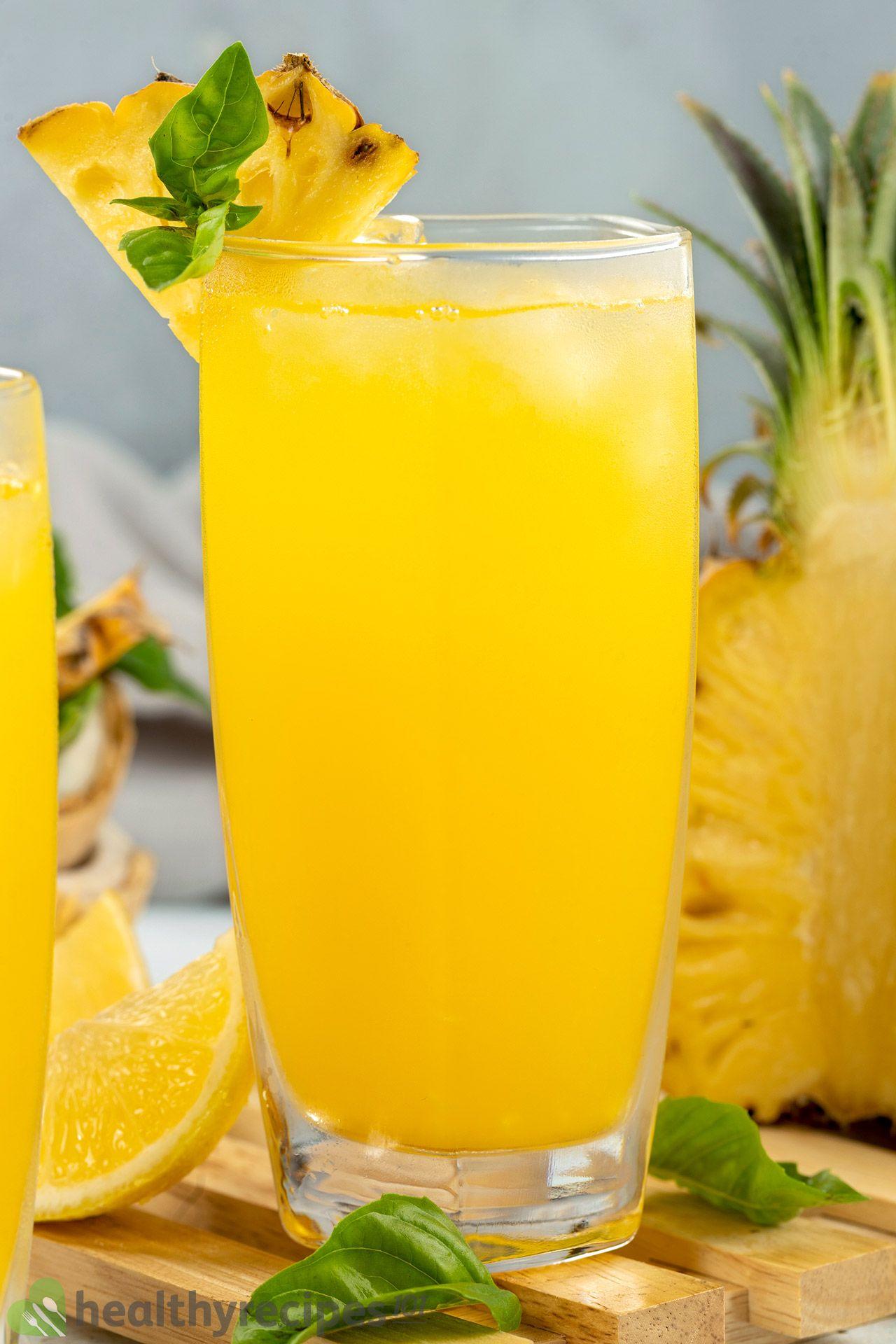 is pineapple lemonade healthy