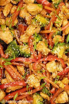 Chicken Teriyaki Stir Fry Recipe