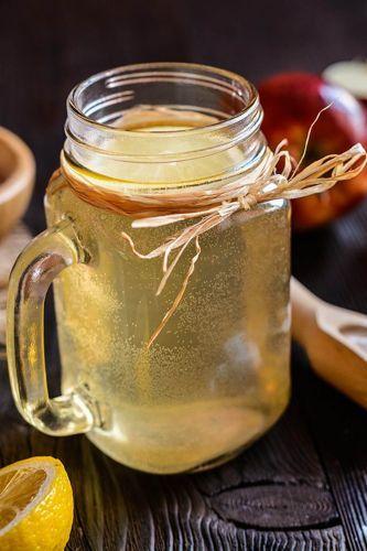 Plain Apple Cider Vinegar and Water