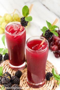 Blackberry Juice Recipe