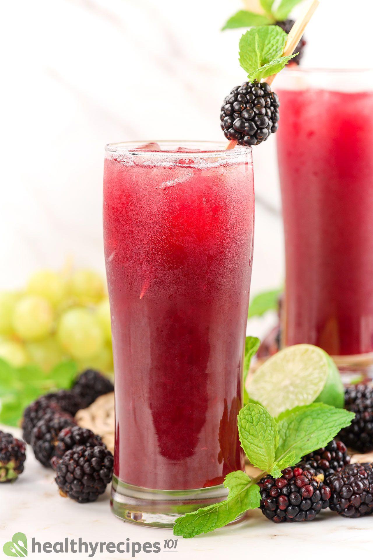 homemade blackberry juice recipe