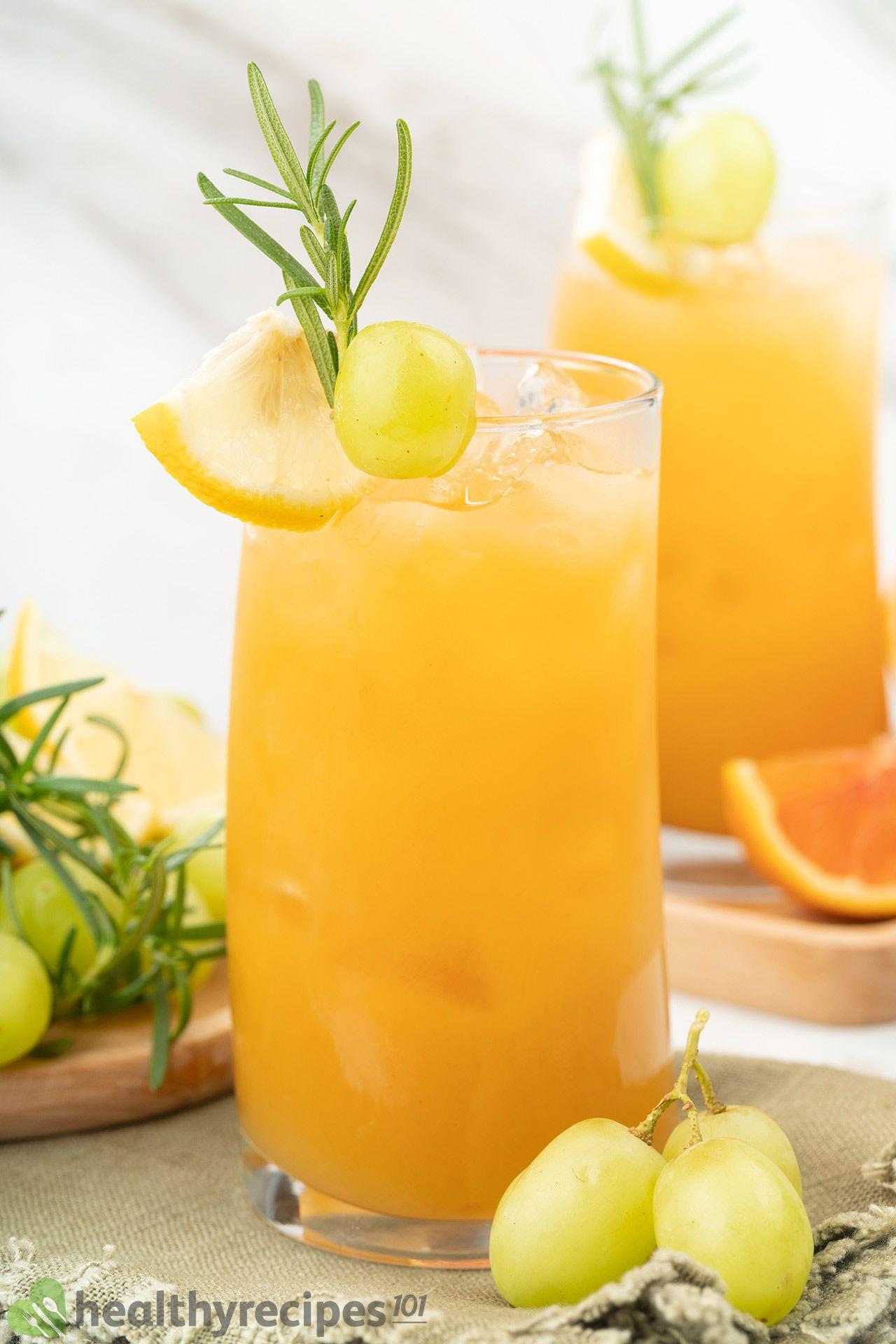 Homemade Grapefruit Juice Recipe