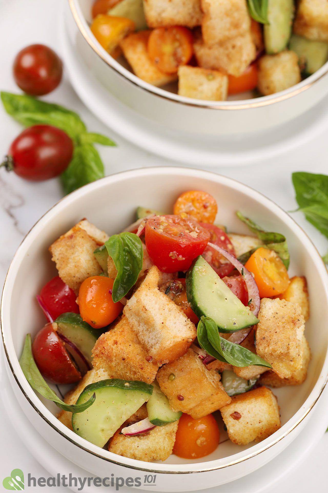 Is Panzanella Salad healthy