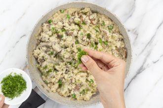 step 5: Garnish with parsley.