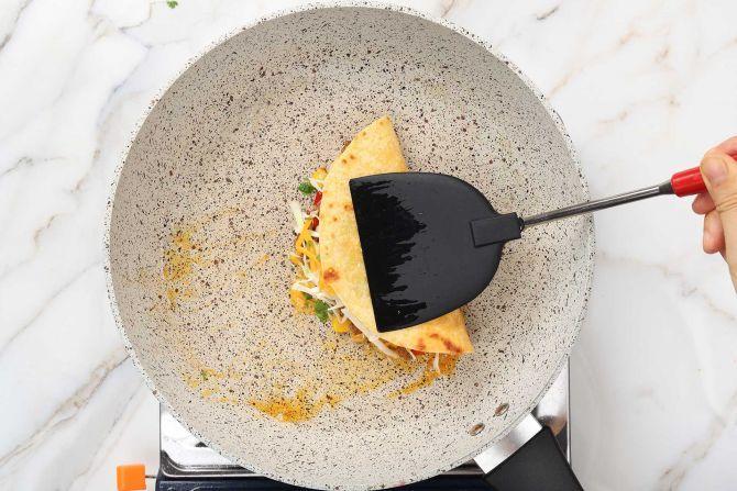 step 5: Make the quesadillas