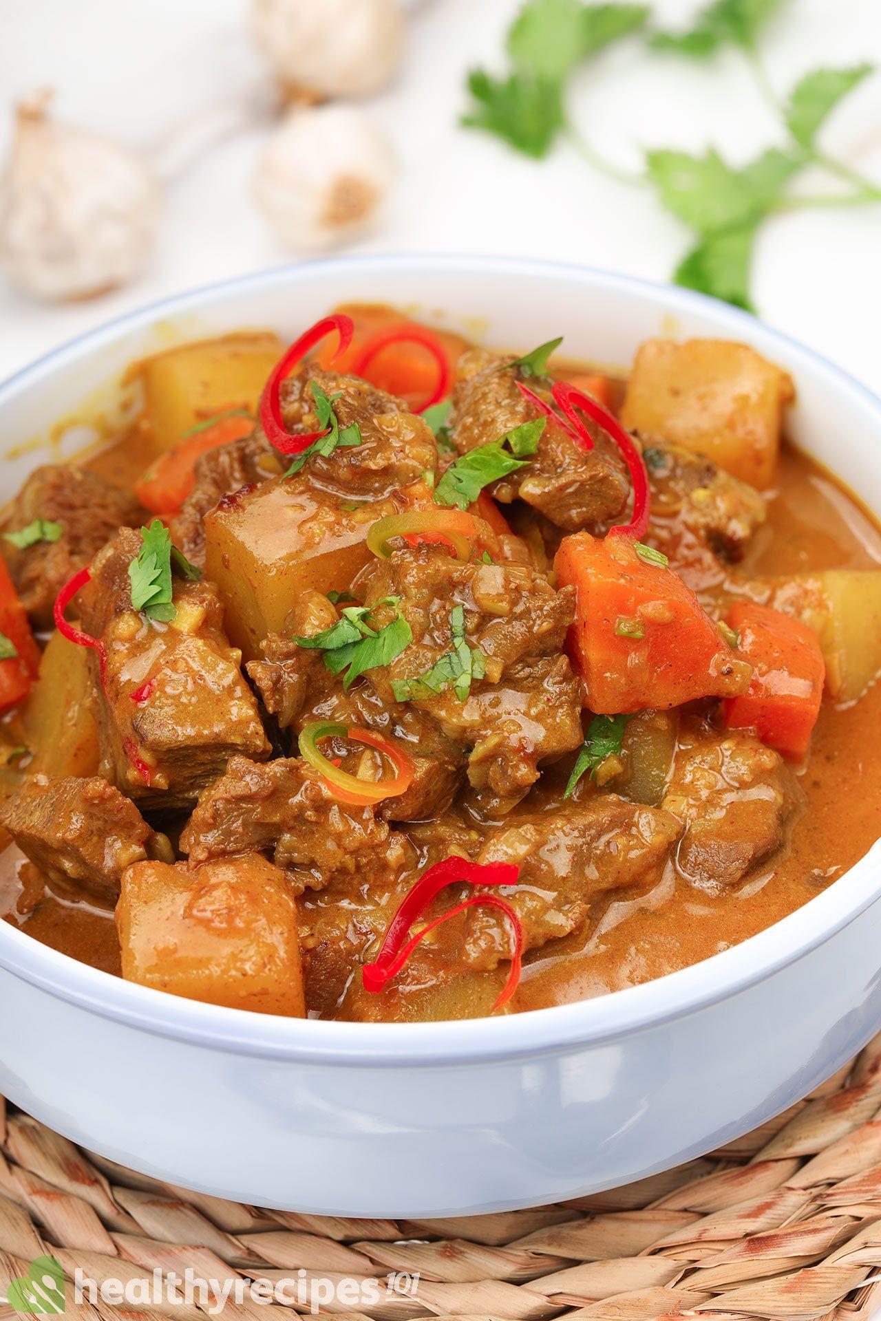 Homemade Beef Curry Recipe