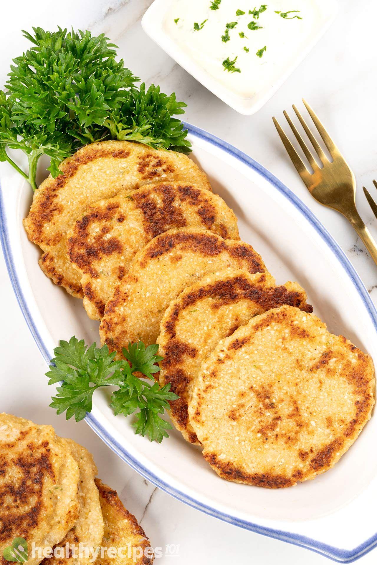 Homemade Cauliflower Hash Browns Recipe