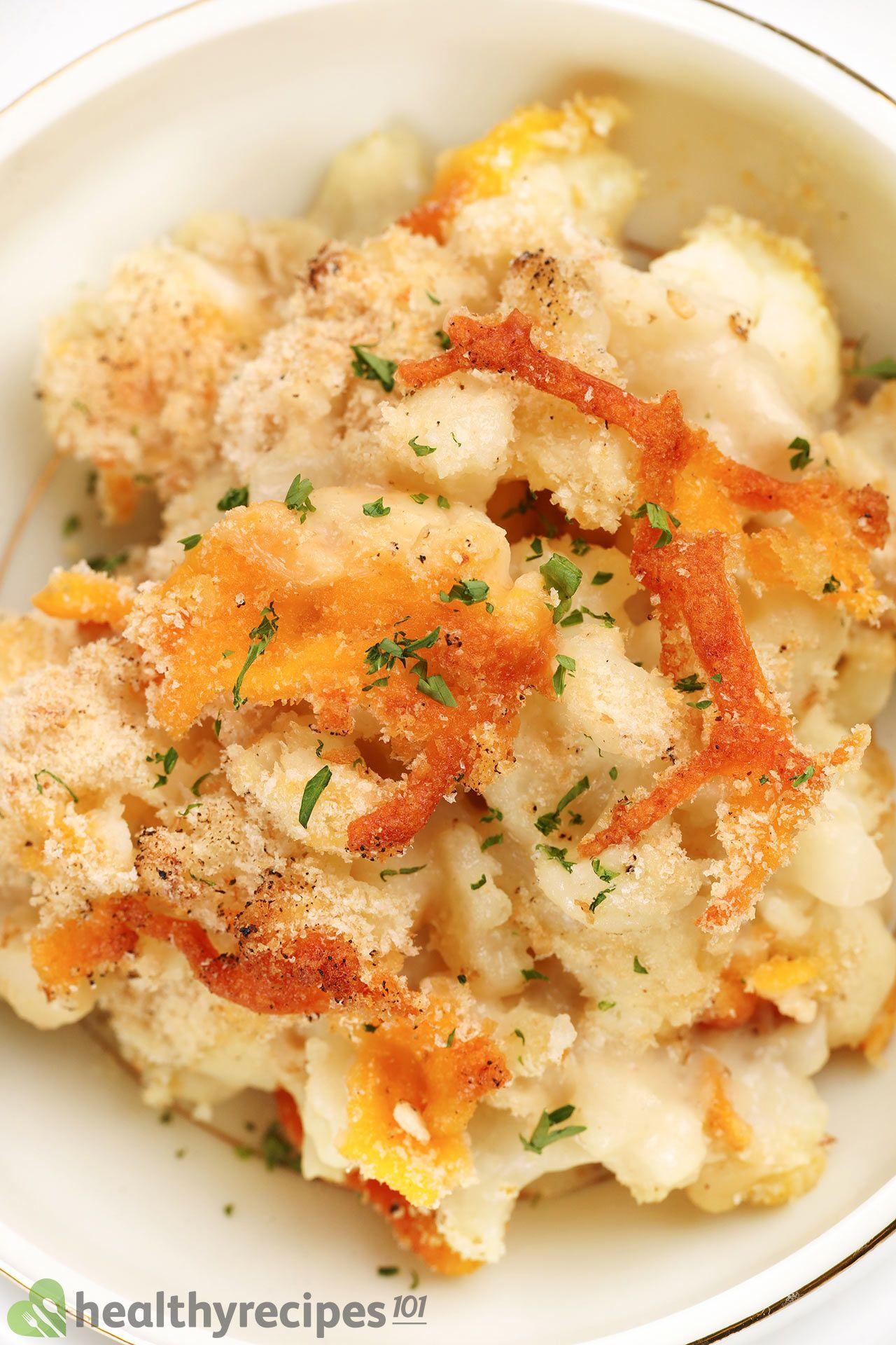 Is Cauliflower Mac And Cheese Healthy