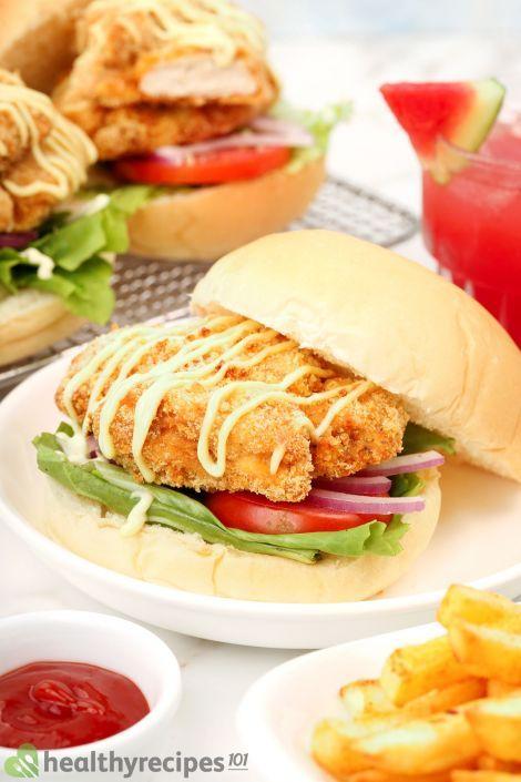 Air Fryer Chicken Sandwich Recipe