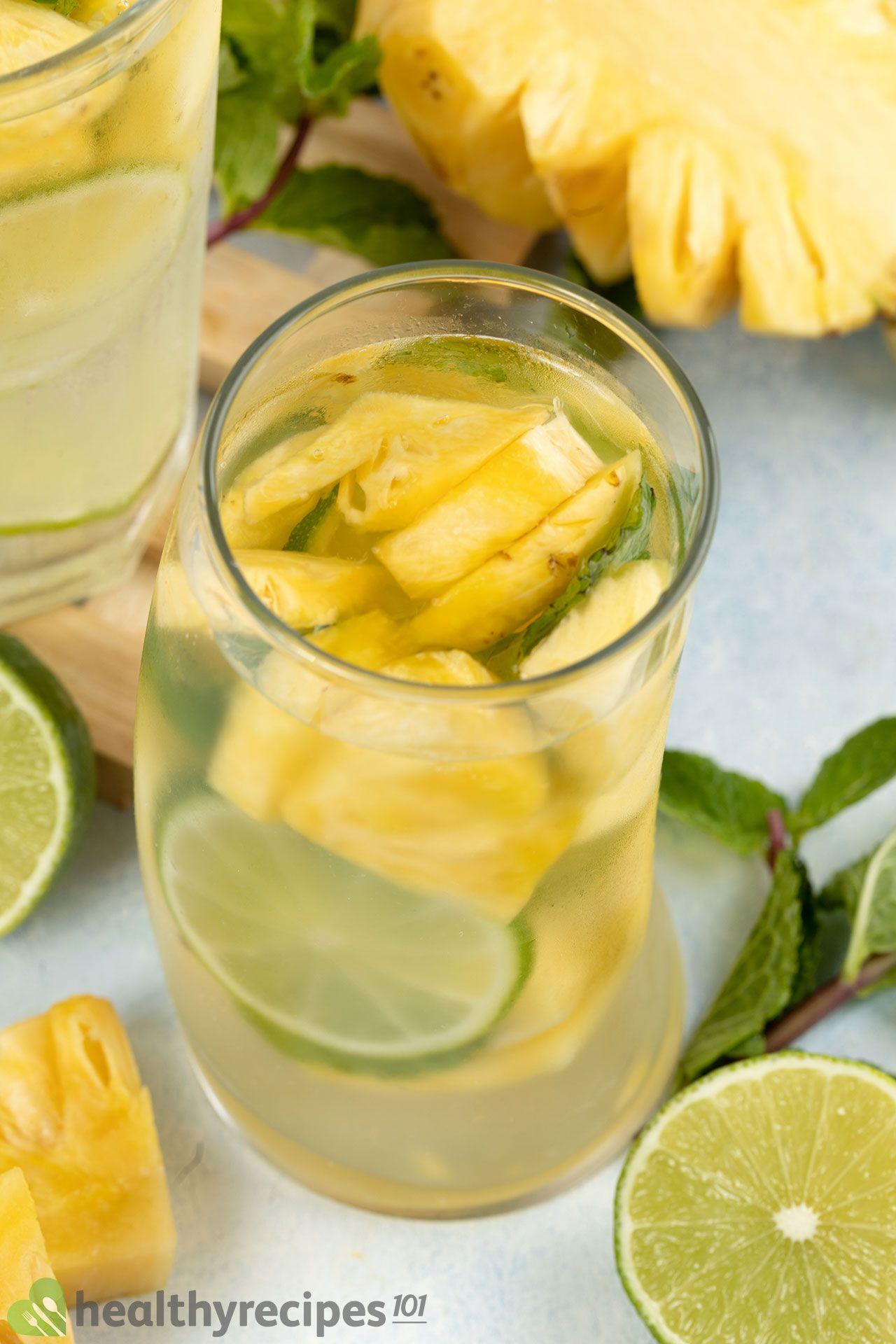 benefits of pineapple water