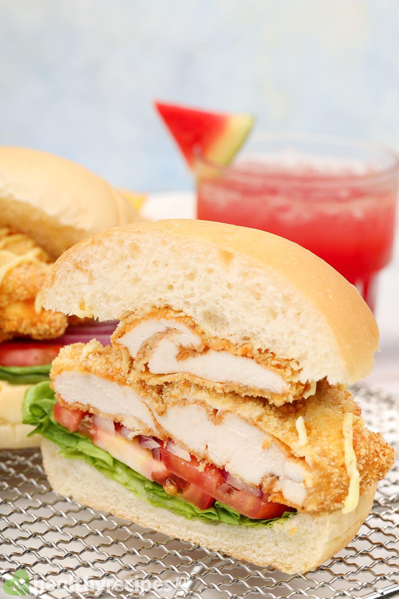can you cook frozen chicken for air fryer chicken sandwich