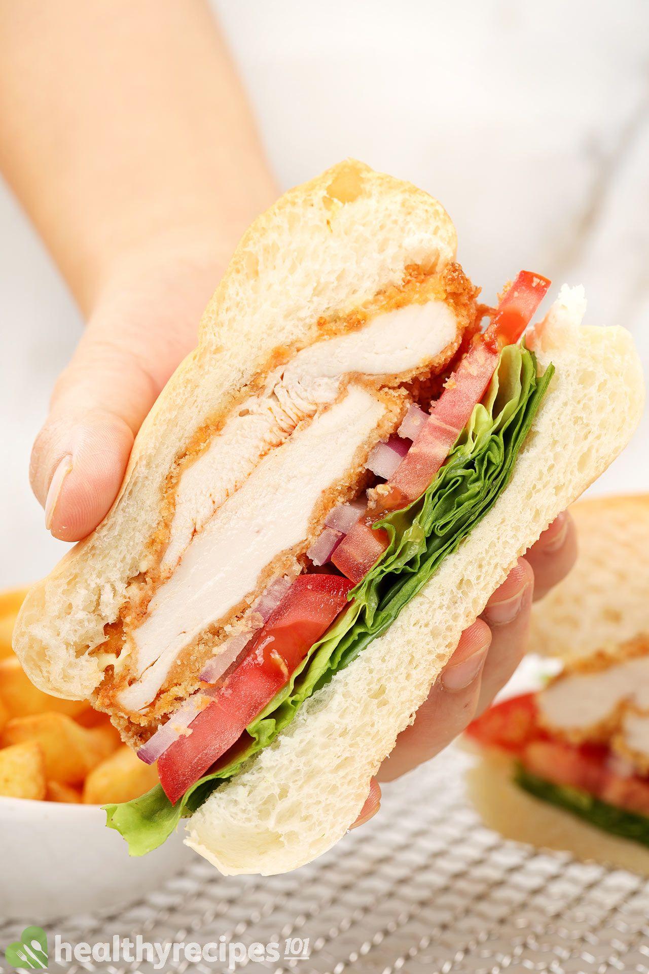 Homemade Air Fryer Chicken Sandwich Recipe
