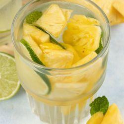 Homemade Pineapple Water Recipe