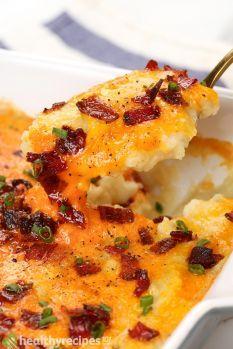Twice Baked Cauliflower Recipe