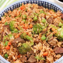 Beef Fried Rice Recipe