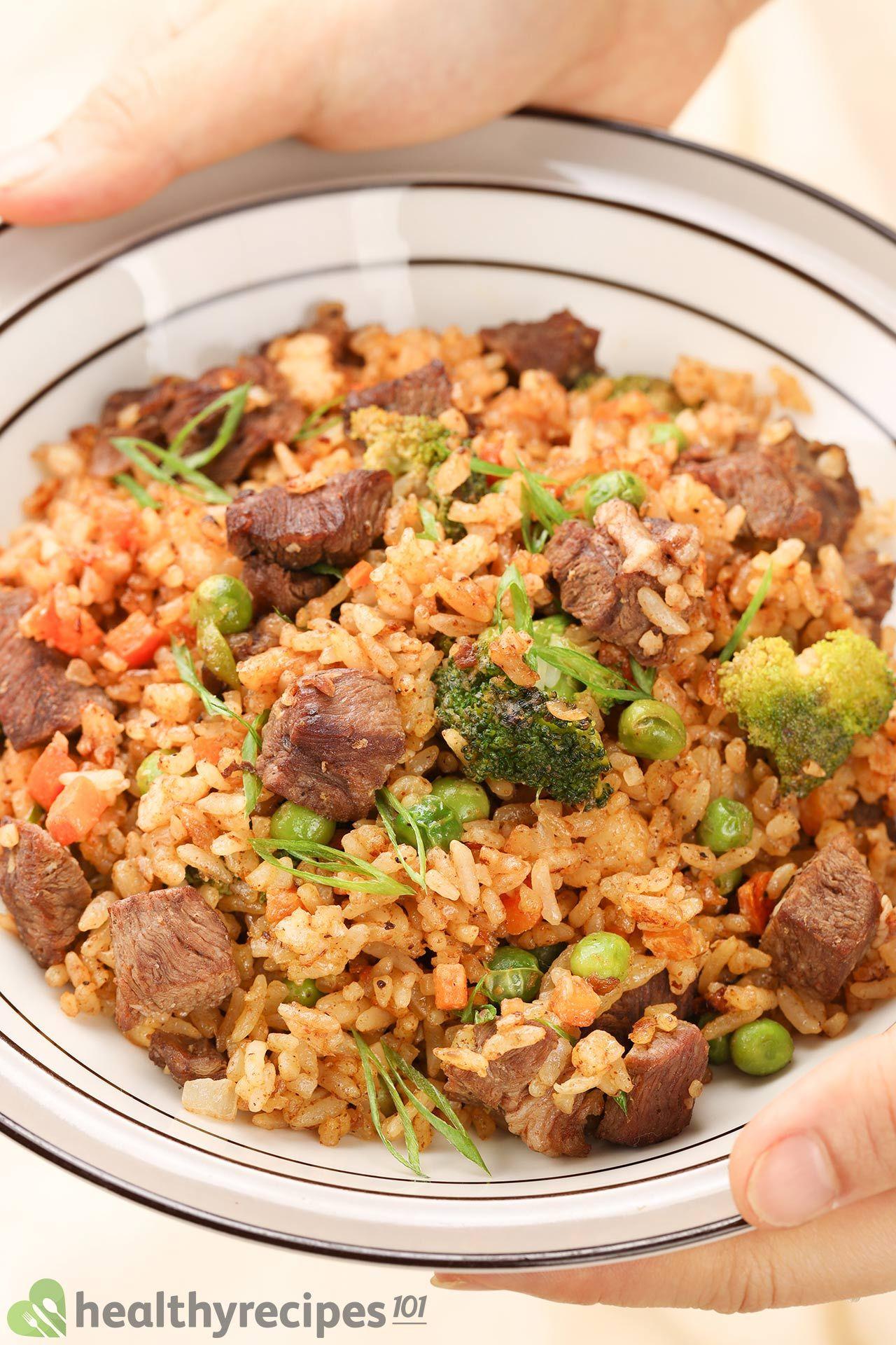 Homemade Beef Fried Rice Recipe