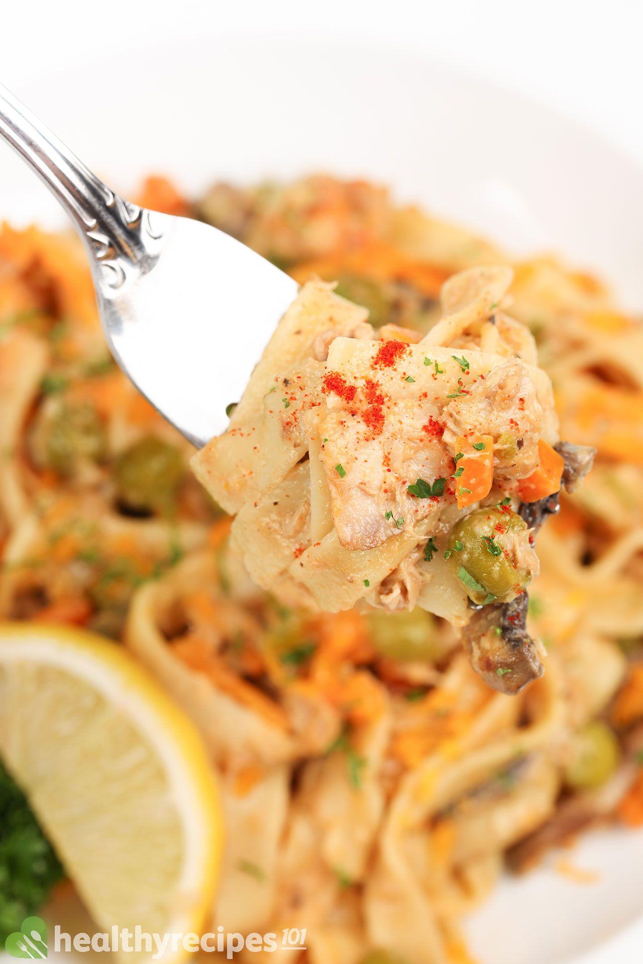 Homemade Instant Pot Tuna Casserole Recipe