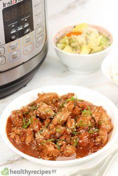 Instant Pot Sesame Chicken Recipe